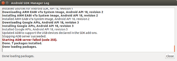 Rooter son téléphone Android : Installation du SDK Android